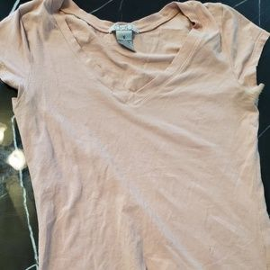 Deb blush pink v neck